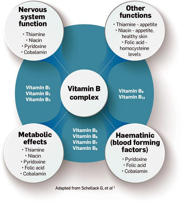 Vitamin B deficiencies and treatment