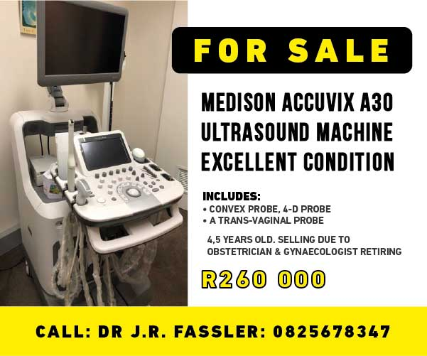 Medison Accuvix A30 ultrasound machine